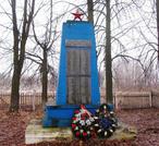 Братская могила  д. Остров 4448