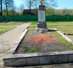 Братская могила  д. Телуша 3166