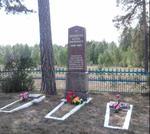Братская могила  д. Комсомолец 586