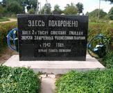 Братская могила  аг. Вишнево 6464