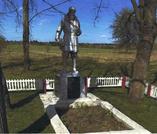 Братская могила  д. Калиновка  2977