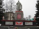 Братская могила г.п. Порозово 2525